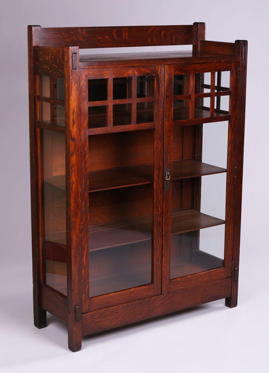Lifetime Furniture Co Two Door China Cabinet Craftsman Style Furniture Arts And Crafts Furniture Craftsman Furniture