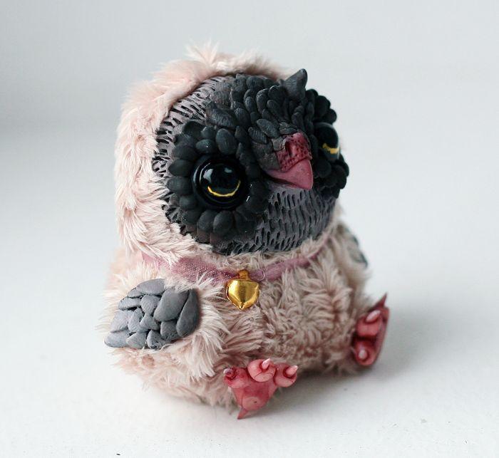 tiny owl by da-bu-di-bu-da on deviantART