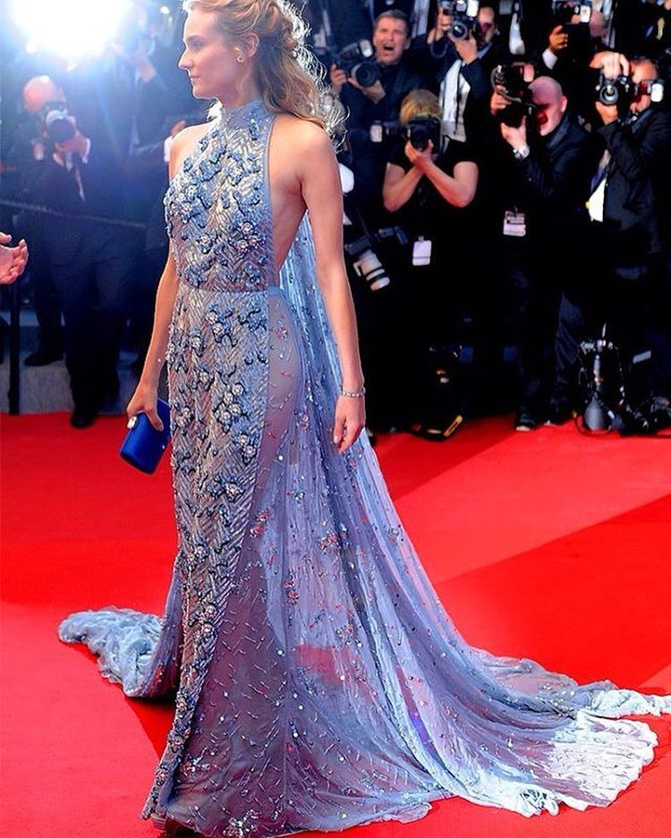 Replicas and recreations of Couture Red Carpet Evening Gowns by Darius