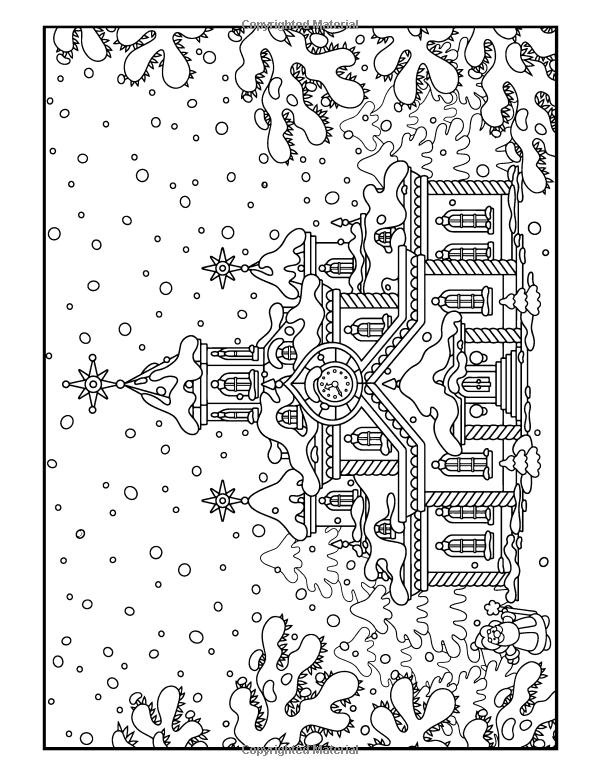Amazon.com: Navidad para colorear Libro: Una Gestión del Estrés ...