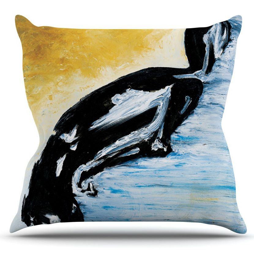Hangin 10 By Josh Serafin Outdoor Throw Pillow Products