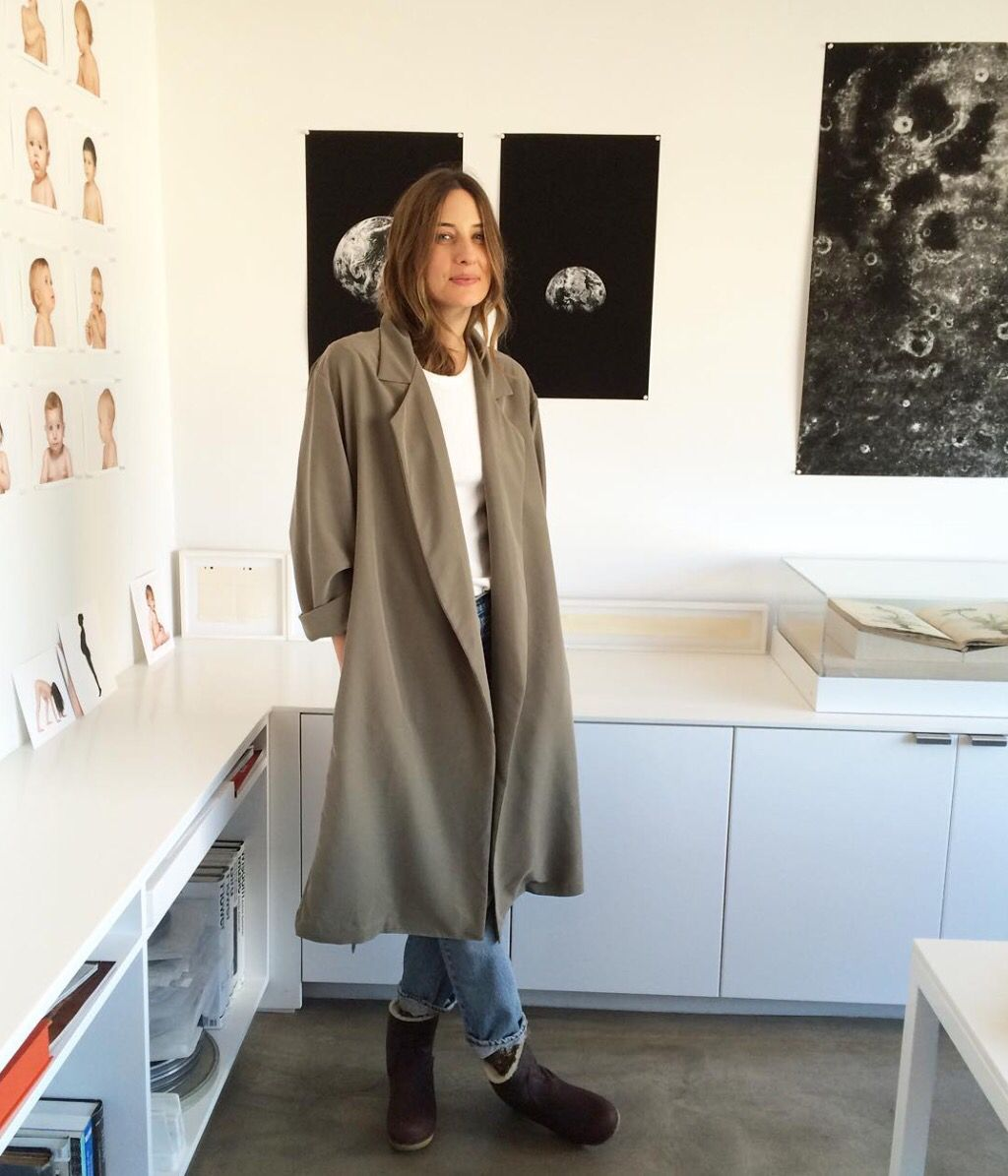 Jesse kamm trench in olive fashion work clothes pinterest