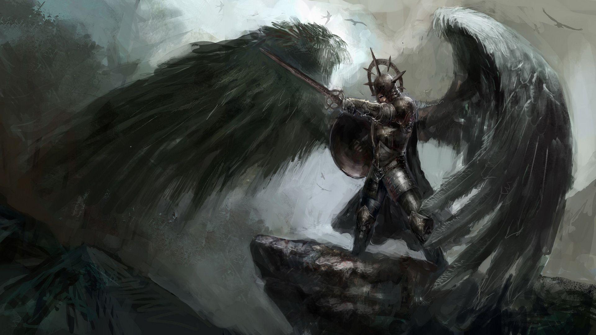 Anjos Guerreiros Wallpaper Hd Pesquisa Google Anjos E Demonios