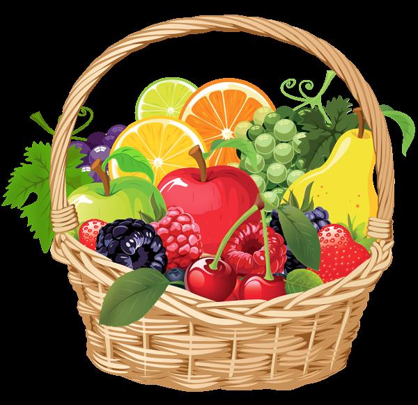 fruit basket png vector clipart rh pinterest com fruit bouquet clipart fruit bouquet clipart