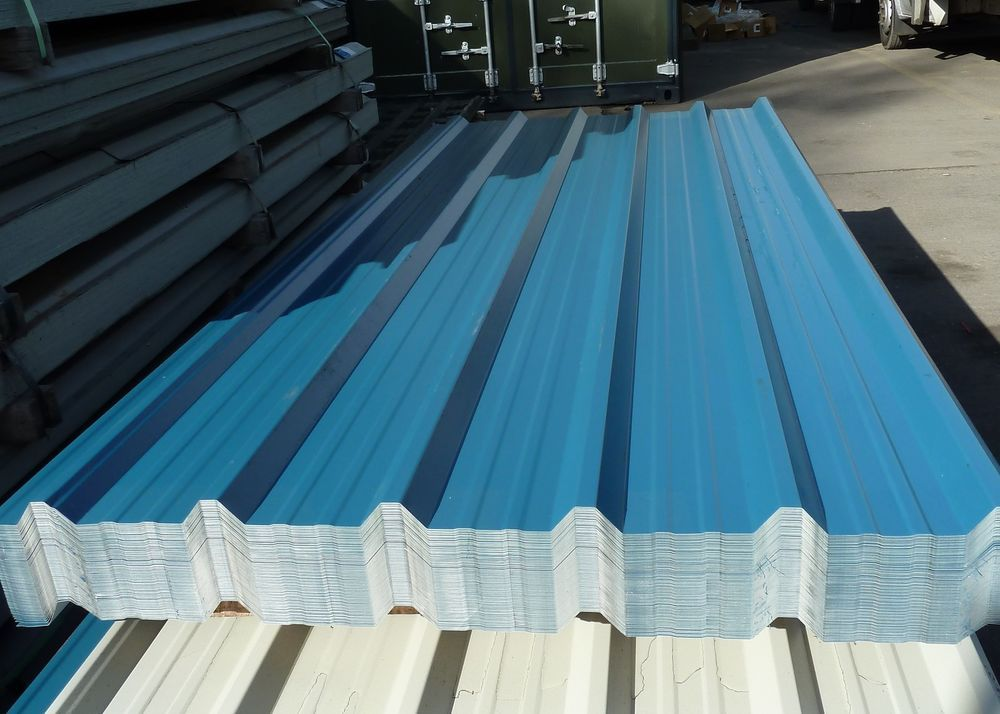 Details About Box Profile Roofing Sheets Steel Metal Tin