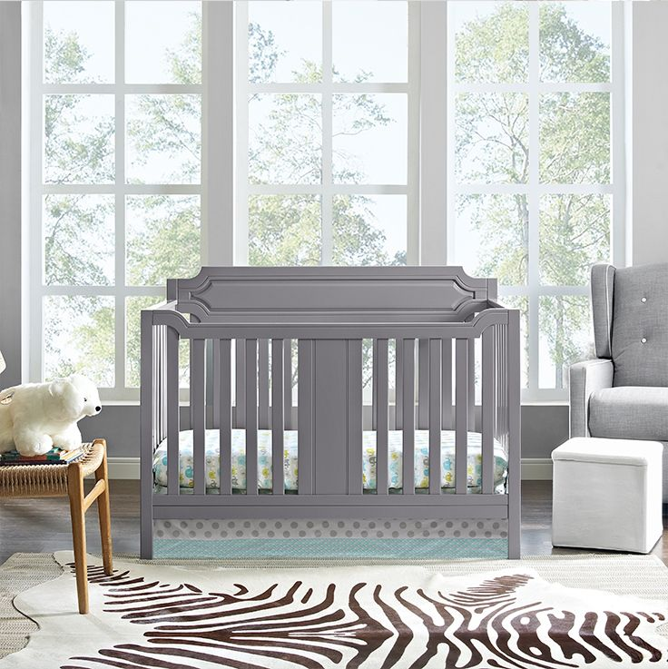 The Baby Relax Morgan 2-in-1 Convertible Crib was inspired by ...
