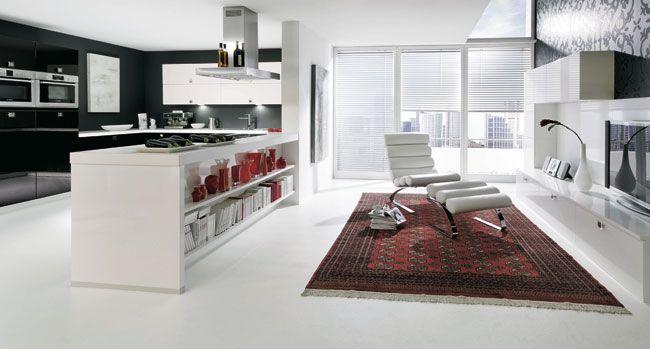 Modern Two-Tone Kitchen Cabinets #55 (Kitchen-Design-Ideasorg