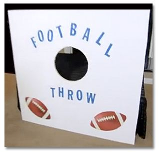 super bowl party ideas football bar and other decorations home repair maintenance and - Football Decorations