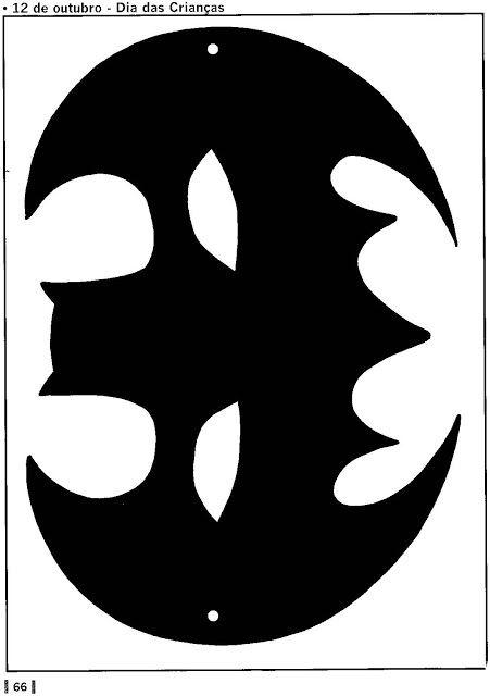 Mascara De Morcego Mascara De Batman Espaco Educar Mascara De