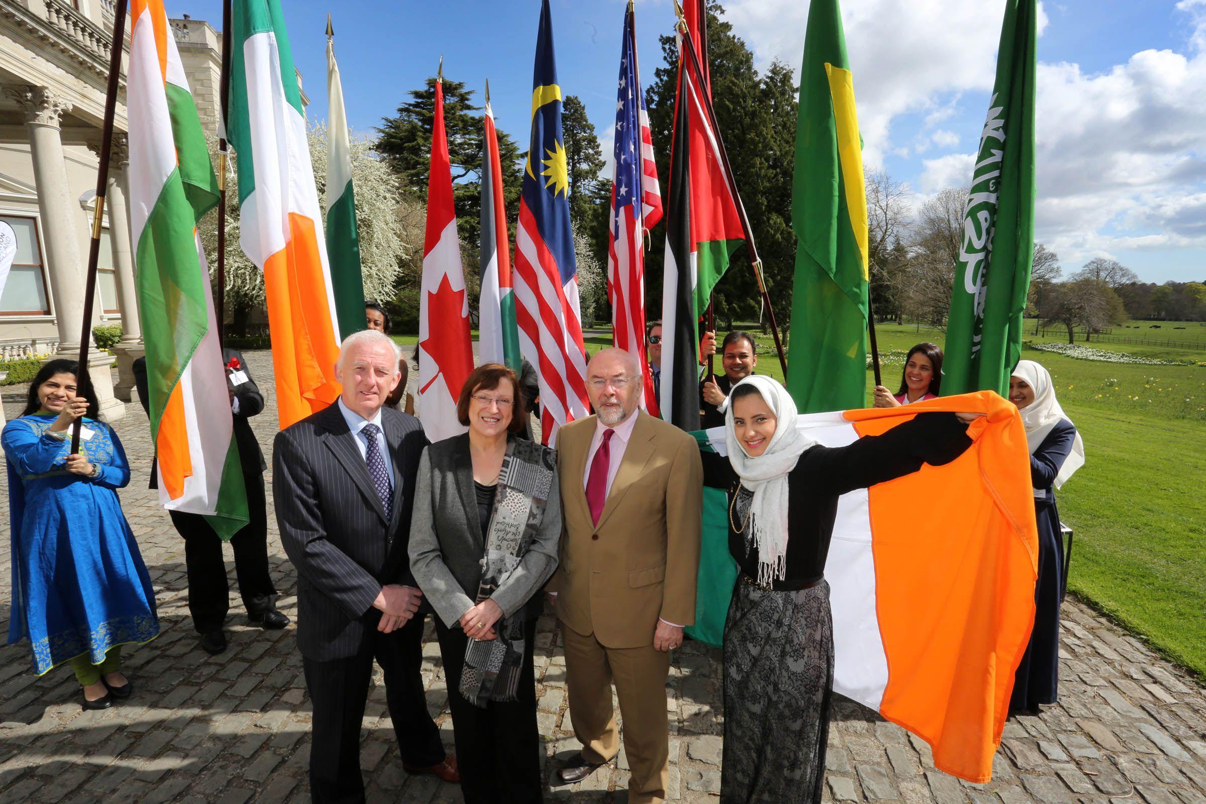 Education in Ireland Student Ambassador ceremony at Farmleigh (2014)