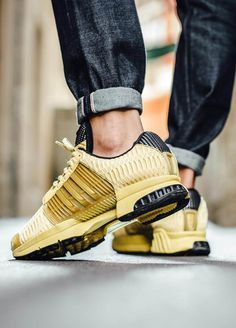 ADIDAS Clima Cool 1 Gold | Sneakers, Sport shoes men, Sports wear ...