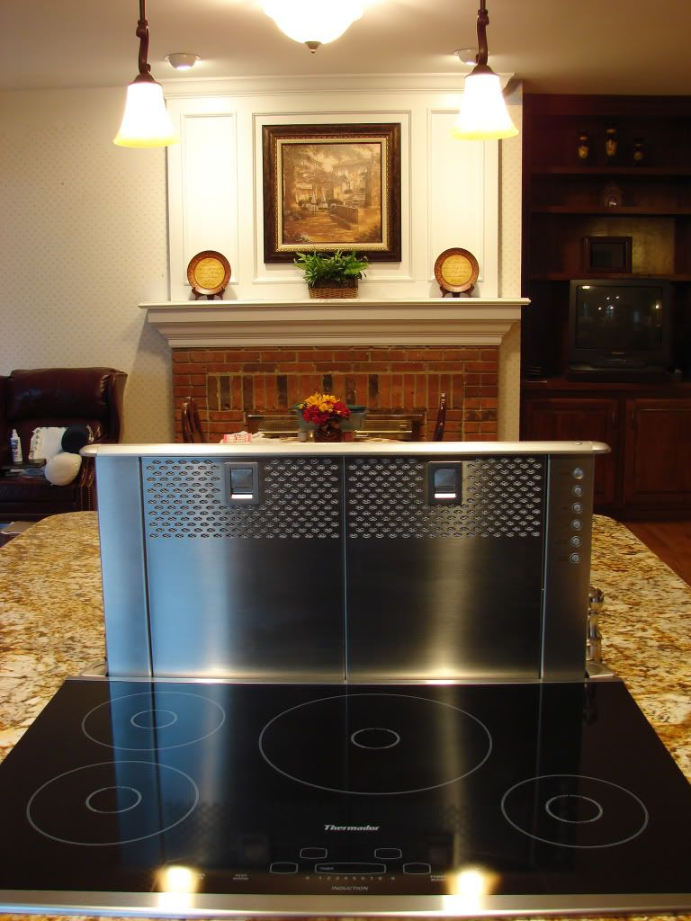 pop up kitchen vent great idea for an island a ppliances