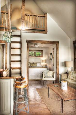 From Brooke Smith Interiors A Guest Cottage On Leech Lake