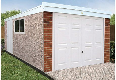 Best Deluxe Concrete Garages Sheds With Images Concrete 400 x 300