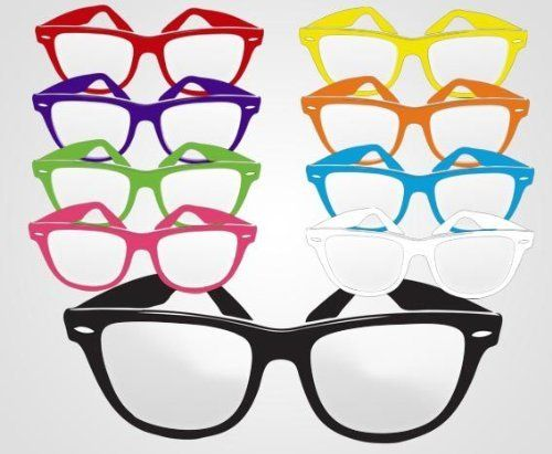 3c9c7f66af Non-Imprint Assorted Colored Frame Fashion Glasses. (Our Product Is Good  For  Wholesale Glasses