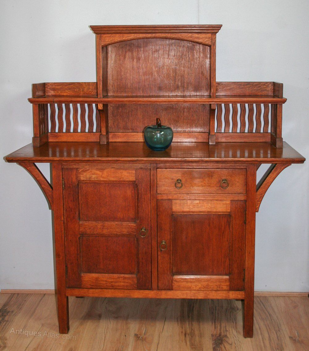 Arts U0026 Crafts Liberty U0026 Co U0027Wykehamu0027 Sideboard   Antiques Atlas