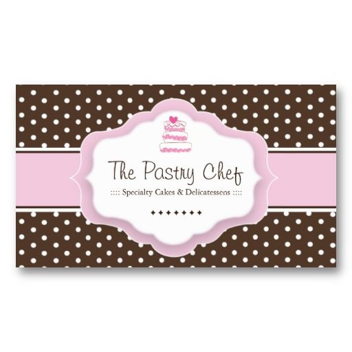 Whimsical Bakery Business Cards Pastry Chef Business Cards - baker pastry chef sample resume