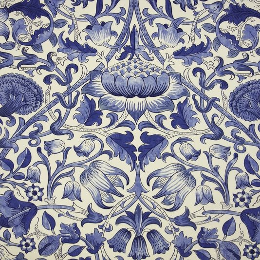 1 yard quilt fabric modmetro white on navy blue floral fabric
