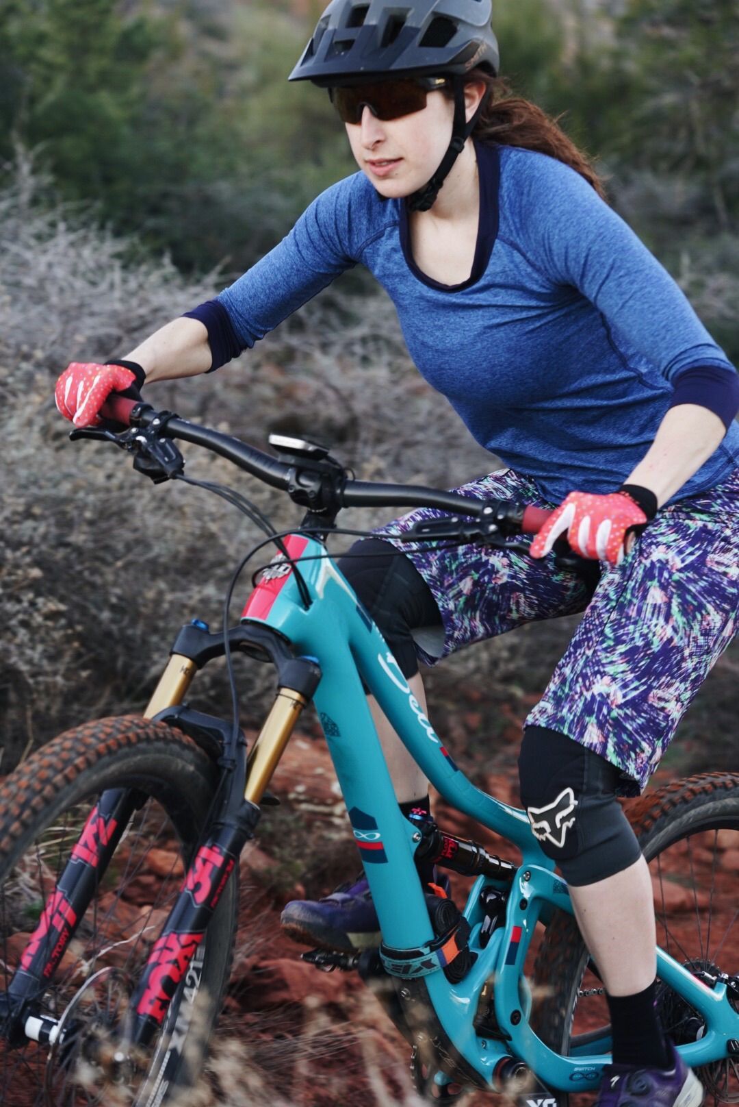 The Mtb Long The Tricia Mountain Bike Shorts Bicycle Workout
