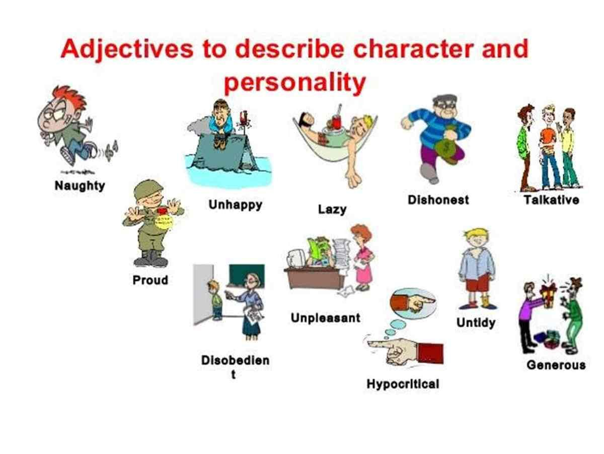 How To Describe Someone S Character And Personality In English