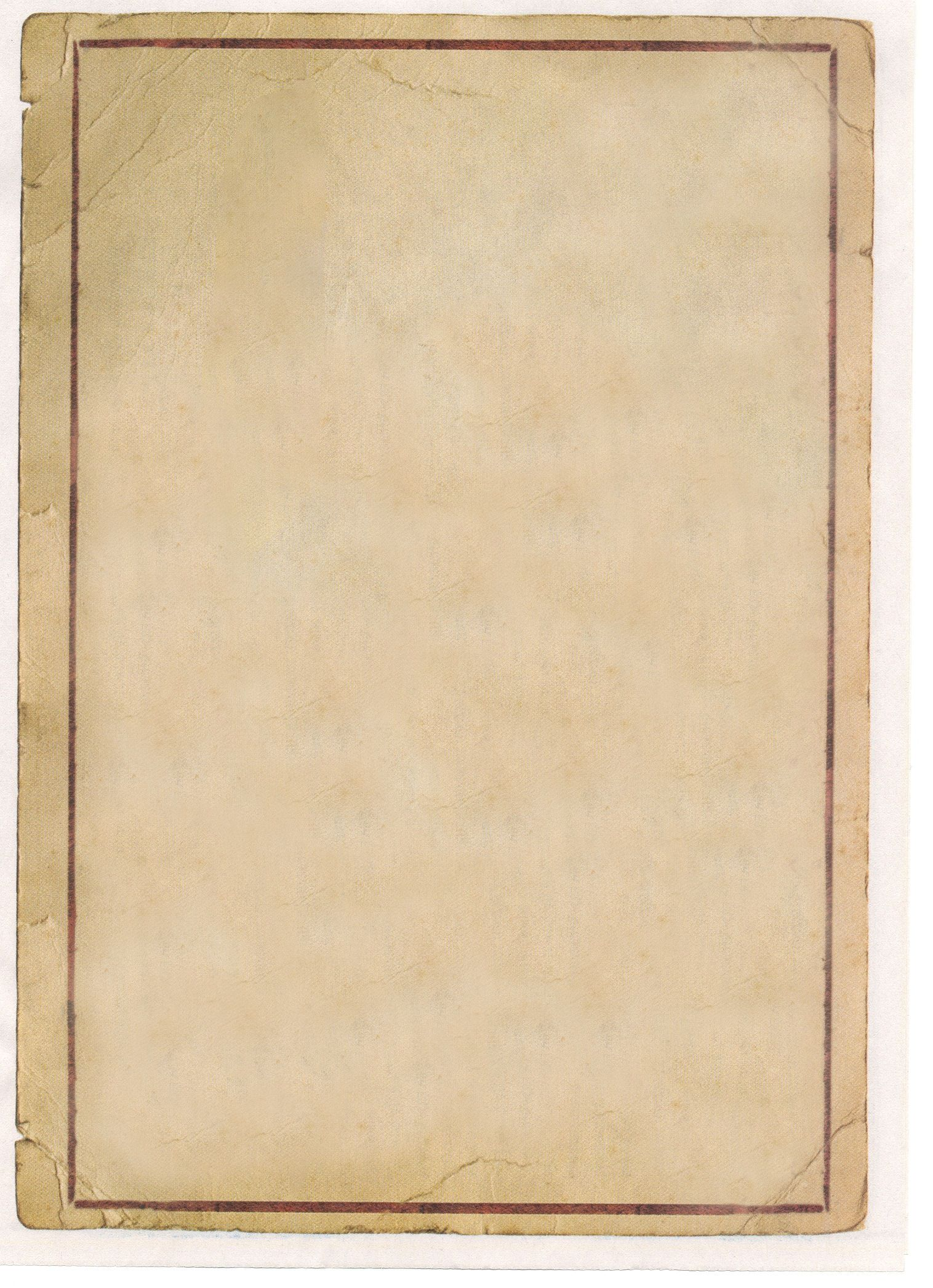 old paper word template