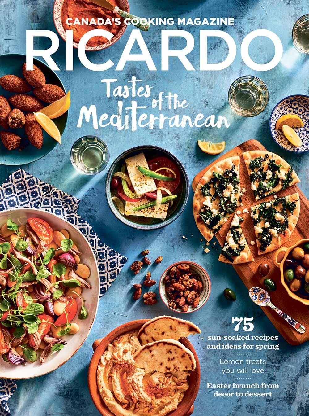 Canada\'s cooking magazine: Discover RICARDO Magazine. Become a pro ...