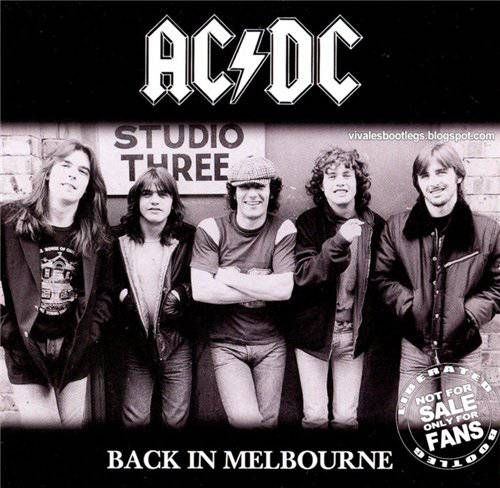 Ac Dc Back In Melbourne Bootleg 1981 Mp3 Acdc Rock And Roll Rock And Roll Bands