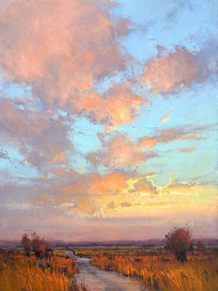 Popular Landscape Paintings Painting For Sale Buy Cheap Landscape Oilpaintingsunset Oil Painting Landscape Landscape Paintings Art Oil