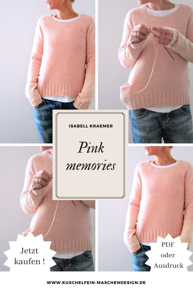 Photo of Strickanleitung Pink memories von Isabell Kraemer