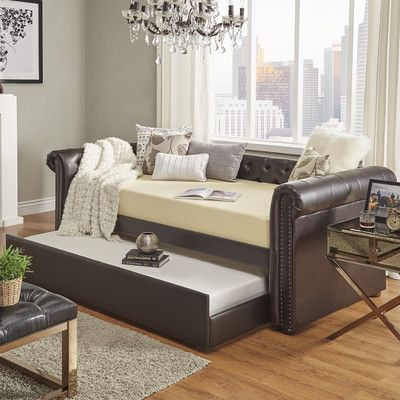 Kaminsky Daybed with Trundle -   delanico/daybeds/kaminsky - Daybed Images