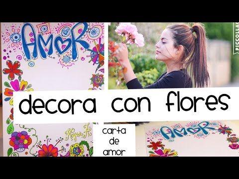 Decora tus Cartas con Flores Fáciles de Dibujar - Mayra Alejandra - YouTube