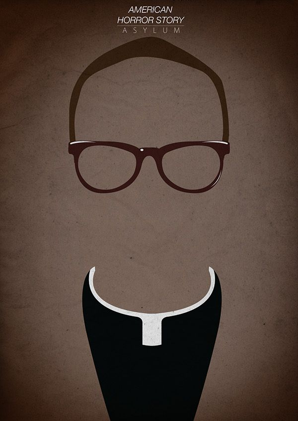 American Horror Story (2011–) ~ Minimal TV Series Poster by Gleydson Lima #amusementphile
