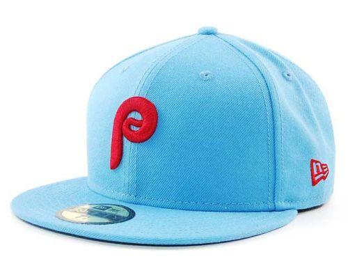 Philadelphia Phillies New Era MLB Cooperstown 59FIFTY Cap Hats 23a3048b471