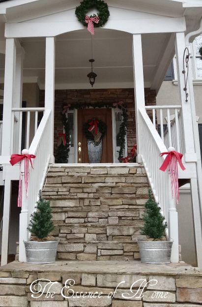 The Essence of Home Outside Christmas Decorations Holly Jolly - christmas decorations for outside