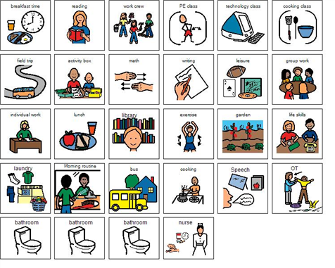 Boardmaker Share Boardmaker, Picture schedule, Winter