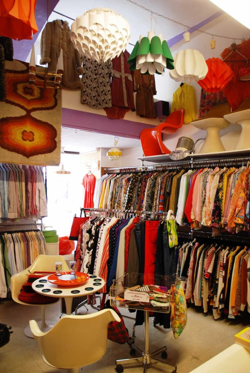 Creer Un Compte Blogs Idrac Vintage Clothes Shop Second Hand Shop Vintage Store
