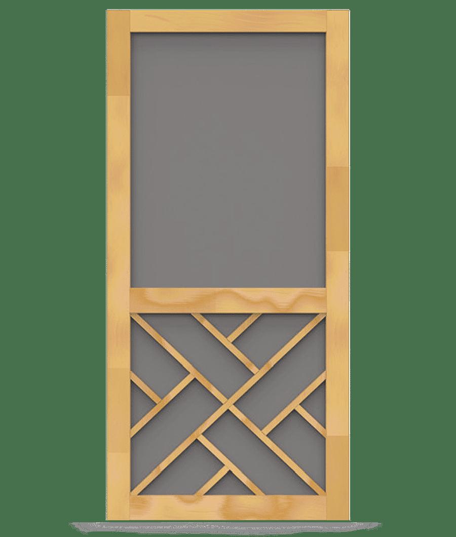 Chippendale Insert Woodcraft Screen Door Screen Tight Screen Door Wood Screen Door Wood Screens