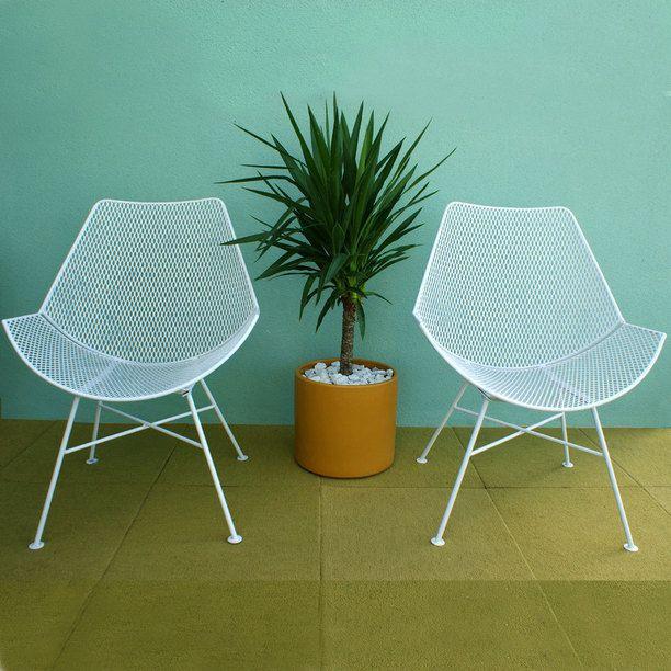 Mid Century Salterini Chairs | PORCH | Pinterest
