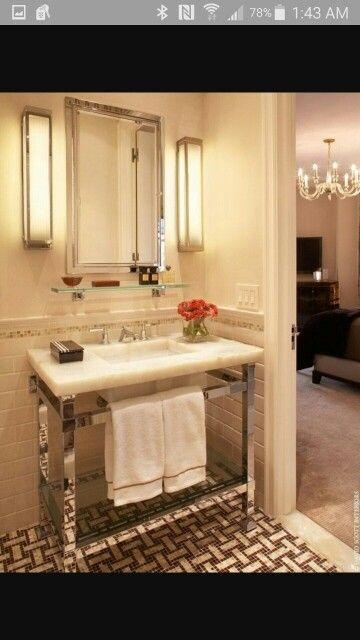4 Leg Pedestal Sink   Design Photos, Ideas And Inspiration. Amazing Gallery  Of Interior Design And Decorating Ideas Of 4 Leg Pedestal Sink In  Laundry/mud ...