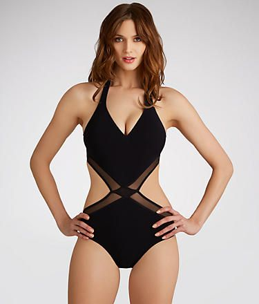 4eb5124bd775 Go ahead and dive into Profile by Gottex swimwear. Have fun and look flirty  while you make a splash or just relax under the sun.