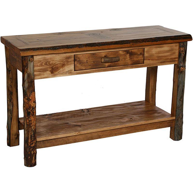 Sofa Tables Homestead Rustic Table Nc