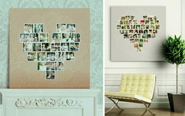 Hervorragend 100 Fotocollagen Erstellen   Fotos Auf Leinwand Selber Machen
