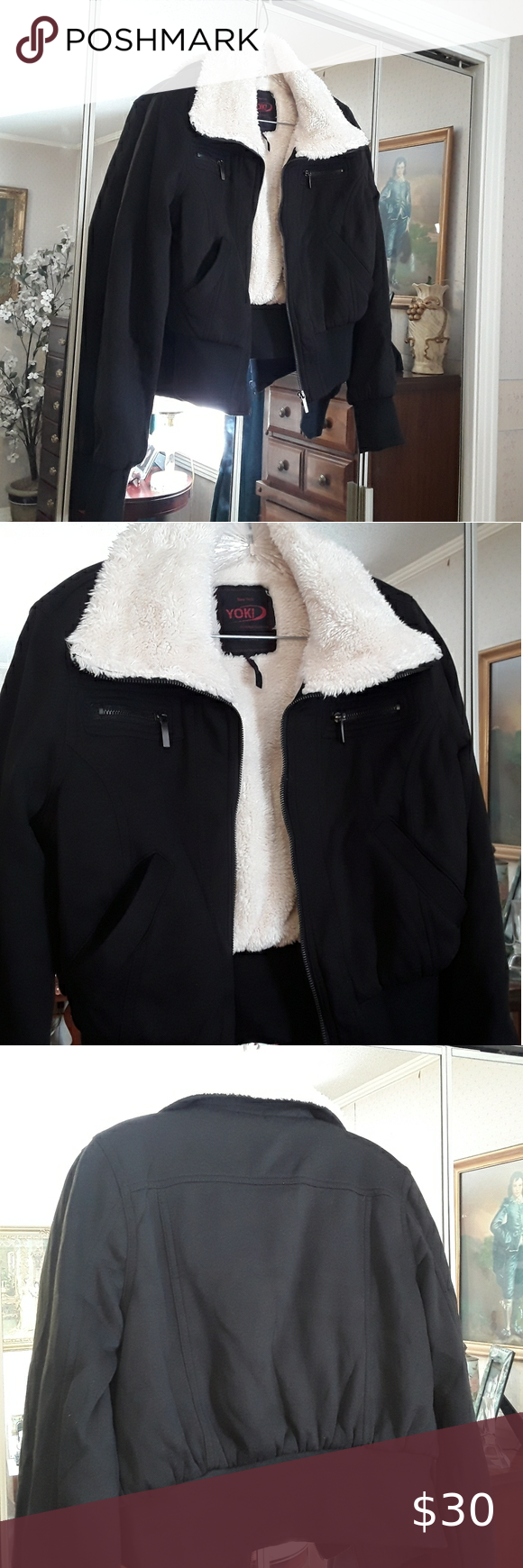 New York Yoki Outerwear Collection Sherpa Jacket M Silk Bomber Jacket Light Pink Bomber Jacket Brown Bomber Jacket [ 1740 x 580 Pixel ]