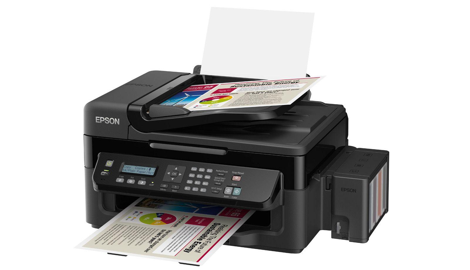 Epson Ecotank L555 Epson Ecotank Printer Epson Printer Epson