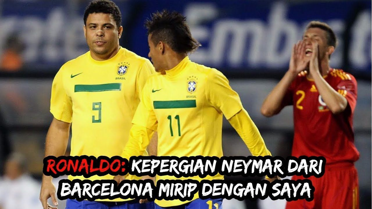 Ronaldo Kepergian Neymar Dari Barcelona Mirip Dengan Saya