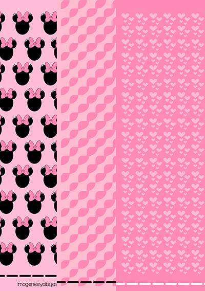 Papel de minnie mouse para imprimir y decorar imagenes for Imagenes de papel decorado