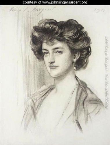 Portrait of Beatrice Alice Fielden - John Singer Sargent - www.johnsingersargent.org