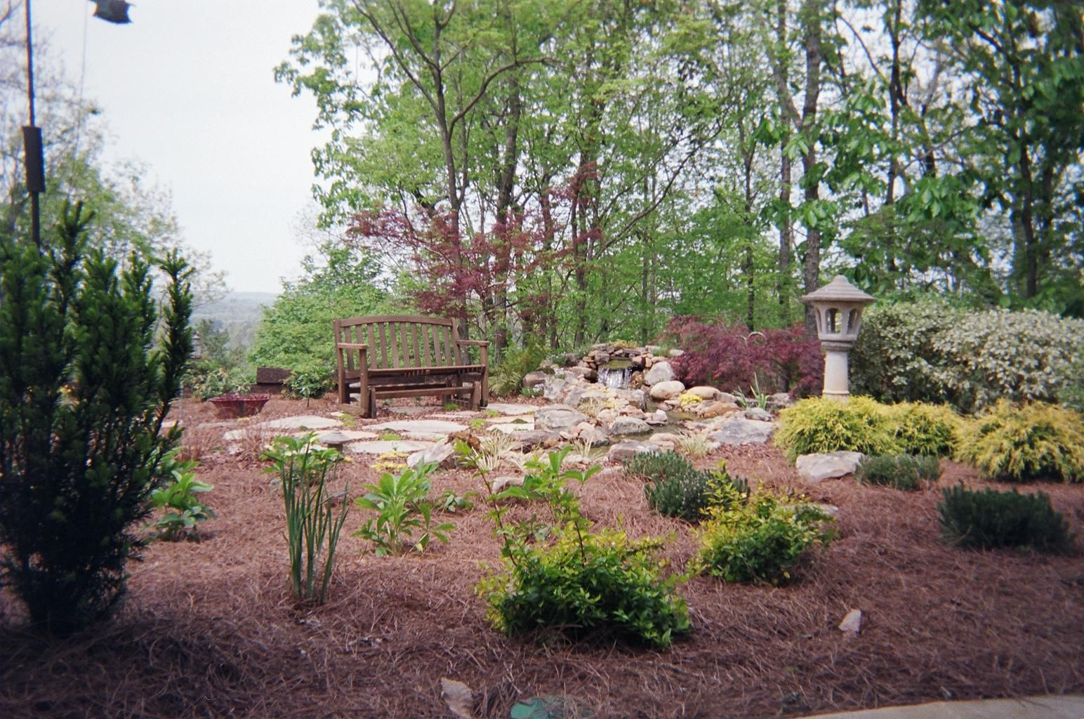 Landscape Design, Rock work and water feature installed by Andy's ...