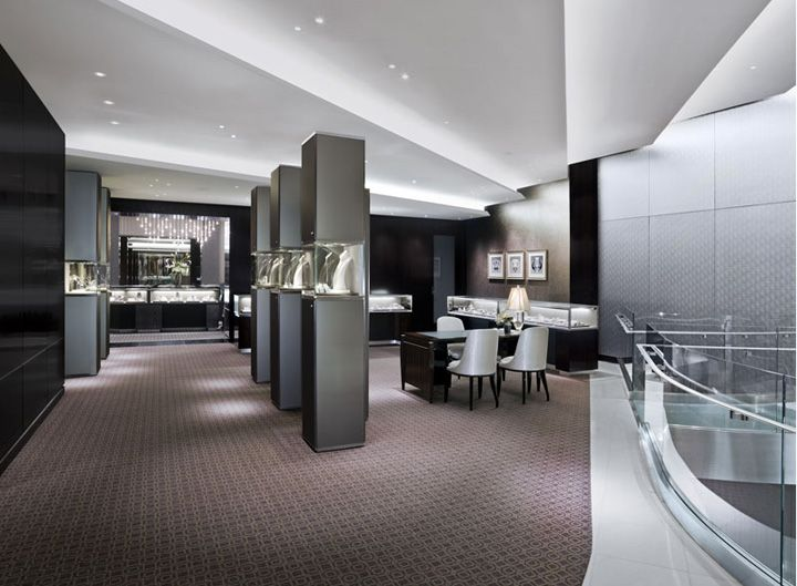 Tiffany co jewellery las vegas store design products for Jewellery interior designs