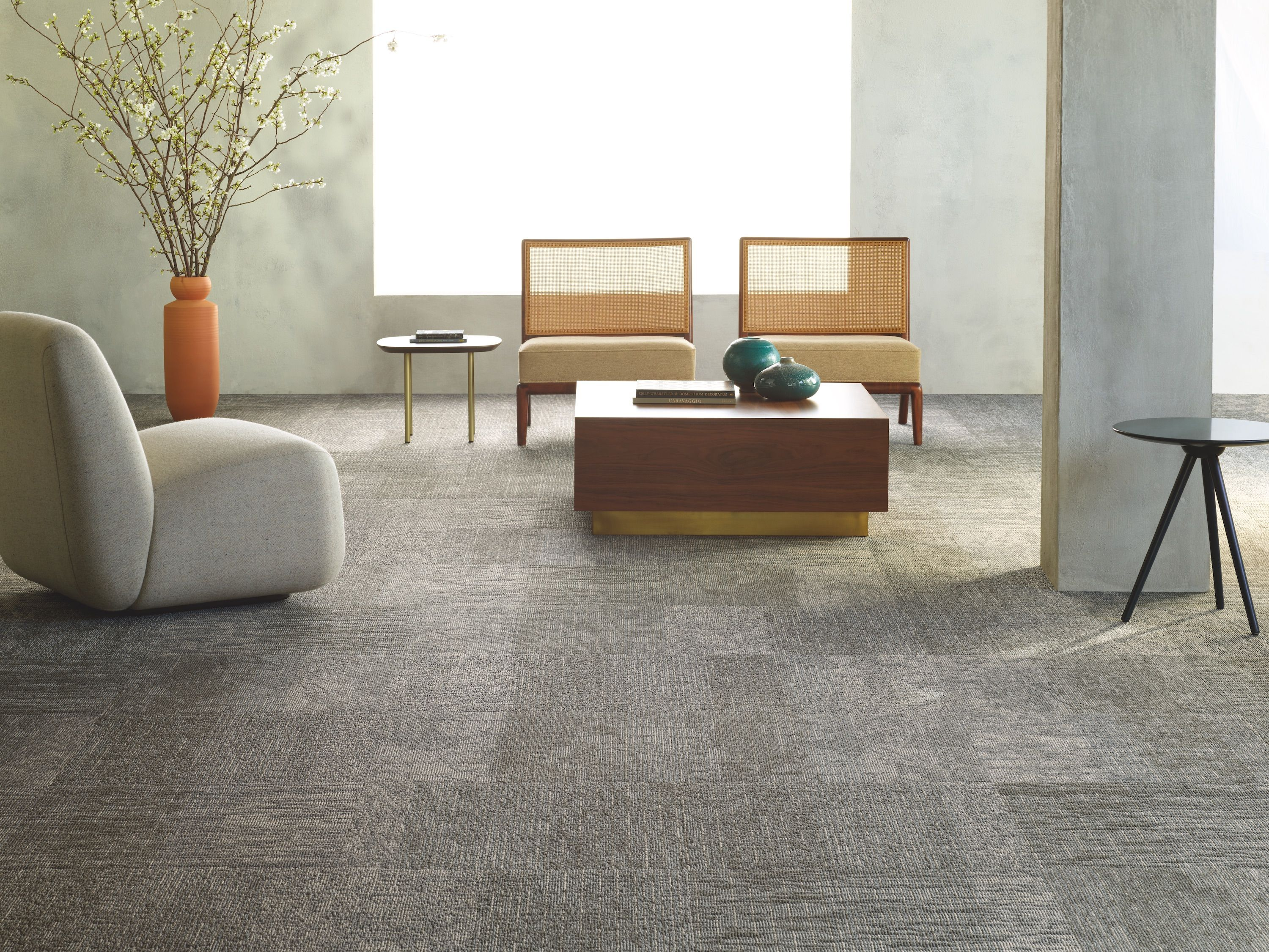 Simply By Nature Carpet Tiles Living Room Flooring Earth Tone